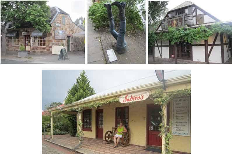 A short visit to Hahndorf village - Henny Jensen
