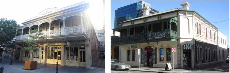 Old town houses in Adelaide - Henny Jensen
