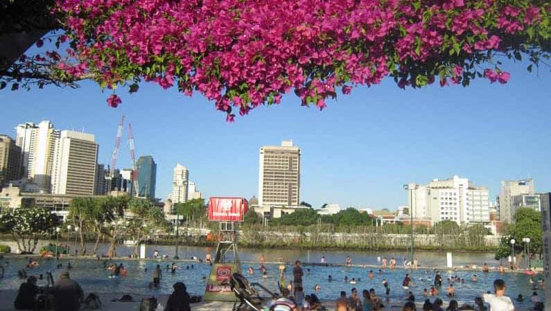 Streets Beach, Brisbane - Henny Jensen