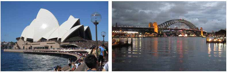 Your Missing Link visits beautiful Sydney Opera House and magnificent Sydney Harbour Bridge
