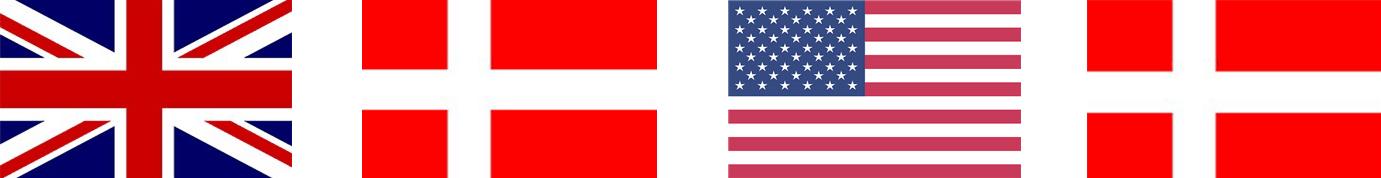 Your Missing Link översätter mellan engelska och danska - brittisk eller amerikansk engelska