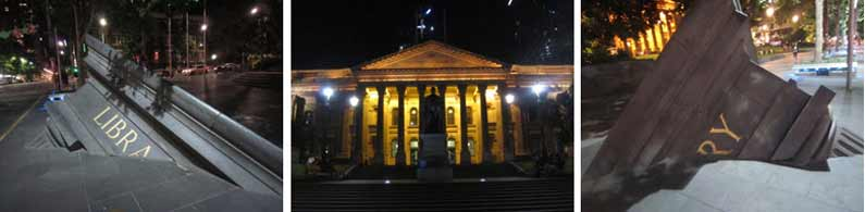 The magnificent Library in Melbourne