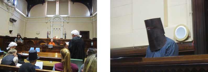 Attended the trial of Australia's most infamous bushranger Ned Kelly - Henny Jensen