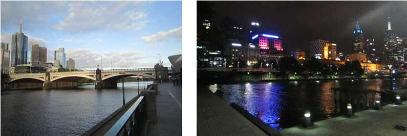 Yarra River by day and night, any time a pretty sight - YML v/Henny Jensen