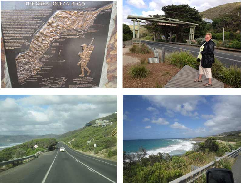 Your Missing Link visits Great Ocean Road in Victoria, Australia. Built in memory of the fallen soldiers in The Great War (WWI), now a popular tourist attraction