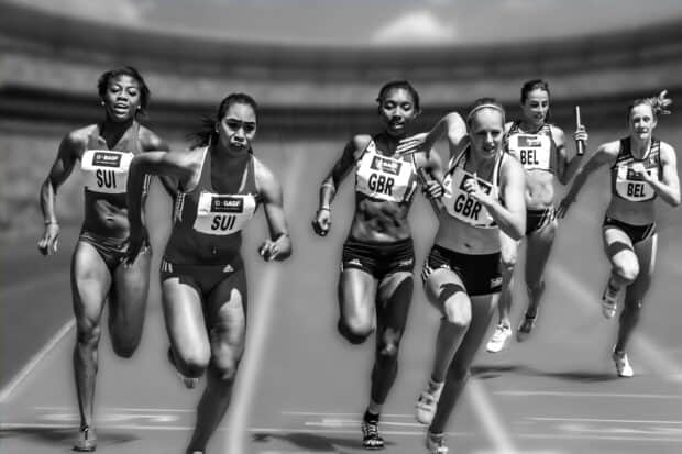 Nutidsr | atleter løber | Your Missing Link
